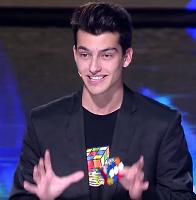 Got Talent Global, Solve Rubik's Cube by Tongue