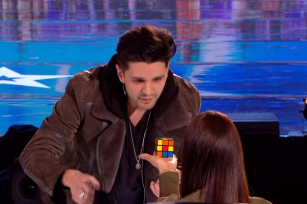 Britain's Got Talent Rubik's Cube Magic 2018