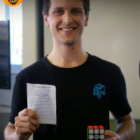 3×3 avg WR 5.69 Feliks Zemdegs