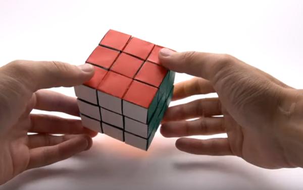 教你用紙摺魔術方塊