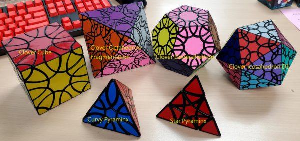 藍藍Star Pyraminx、Curvy Pyraminx