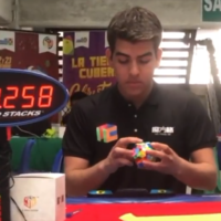 Megaminx single 27.22 Juan Pablo Huanqui
