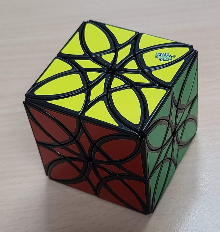 藍藍蝶戀花魔方Lan Lan Butterflower Cube
