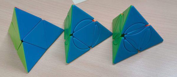 方是轉角二階金字塔Circle Pyramorphix